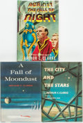 Books:Science Fiction & Fantasy, Arthur C. Clarke. Trio of Titles. Various publishers and dates....(Total: 3 Items)