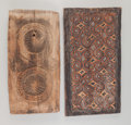 Miscellaneous, Two House Panels, Afghanistan and Toraja... (Total: 2 Items)