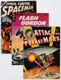Golden Age (1938-1955):Science Fiction, Comic Books - Assorted Golden and Silver Age Science Fiction ComicsGroup of 8 (Various Publishers, 1951-65).... (Total: 8 Comic Books)
