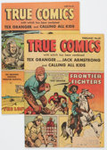 Golden Age (1938-1955):War, True Comics #81 and 83 Group (True, 1950) Condition: AverageNM-.... (Total: 2 Comic Books)