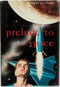 Books:Science Fiction & Fantasy, Arthur C. Clarke. Prelude to Space. Gnome Press, [1954]....