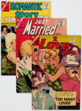 Silver Age (1956-1969):Romance, Charlton Silver Age Romance Comics Group of 37 (Charlton, 1963-68) Condition: Average FN+.... (Total: 37 Comic Books)