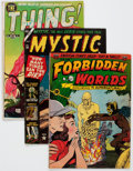 Golden Age (1938-1955):Horror, Comic Books - Assorted Golden and Silver Age Horror Comics Group of11 (Various Publishers, 1952-67) Condition: Average GD/VG....(Total: 11 Comic Books)