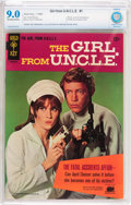 Silver Age (1956-1969):Adventure, Girl From U.N.C.L.E. #1 (Gold Key, 1967) CBCS VF/NM 9.0 Off-white to white pages....