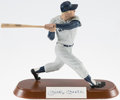 Baseball Collectibles:Others, Mickey Mantle Signed Salvino Statue....