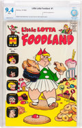 Silver Age (1956-1969):Cartoon Character, Little Lotta Foodland #1 (Harvey, 1963) CBCS NM 9.4 White pages....