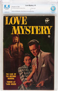 Golden Age (1938-1955):Romance, Love Mystery #1 (Fawcett Publications, 1950) CBCS FN- 5.5 Off-whitepages....