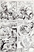 "Original Comic Art:Panel Pages, Jack Kirby and Joe Sinnott Tales of Suspense #94 ""If ThisBe... Modok!"" Page 9 Captain America Original Art (Marve..."