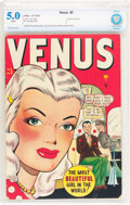 Golden Age (1938-1955):Romance, Venus #2 (Timely, 1948) CBCS VG/FN 5.0 White pages....