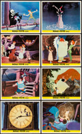 "Movie Posters:Animation, Peter Pan & Other Lot (Walt Disney Productions, 1953). BritishFront of House Color Photo Set of 8 & Photos (14) (8"" X10"").... (Total: 22 Items)"