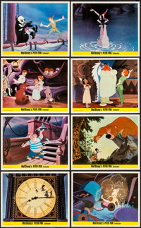Peter Pan & Other Lot (Walt Disney Productions, 1953). British Front of House Color Photo Set of 8 & Pho...