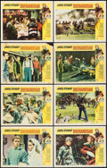 """Movie Posters:Western, Shenandoah (Universal, 1965). Lobby Card Set of 8 (11"""" X 14""""). Western.. ... (Total: 8 Items)"""