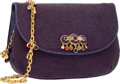 "Luxury Accessories:Accessories, Judith Leiber Purple Stingray Clutch Bag . ExcellentCondition. 7"" Width x 6"" Height x 1"" Depth. ..."