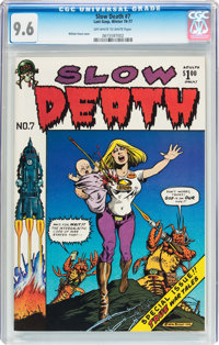 Slow Death #7 (Last Gasp, 1976) CGC NM+ 9.6 Off-white to white pages