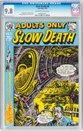 Bronze Age (1970-1979):Alternative/Underground, Slow Death #6 (Last Gasp, 1974) CGC NM/MT 9.8 Off-white to white pages....