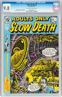 Slow Death #6 (Last Gasp, 1974) CGC NM/MT 9.8 Off-white to white pages