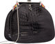 "Judith Leiber Shiny Black Alligator Evening Bag Excellent Condition 7.5"" Width x 7"" Height x 3"" Depth Thi..."