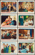 """Movie Posters:Comedy, She's Working Her Way Through College (Warner Brothers, 1952). Lobby Card Set of 8 (11"""" X 14""""). Comedy.. ... (Total: 8 Items)"""