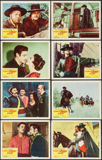 """The Sign of Zorro (Buena Vista, 1960). Lobby Card Set of 8 (11"""" X 14""""). Adventure. ... (Total: 8 Items)"""