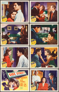 "Side Street (MGM, 1950). Lobby Card Set of 8 (11"" X 14""). Film Noir. ... (Total: 8 Items)"