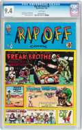 Bronze Age (1970-1979):Alternative/Underground, Rip Off Comix #8 (Rip Off Press, 1981) CGC NM 9.4 White pages....