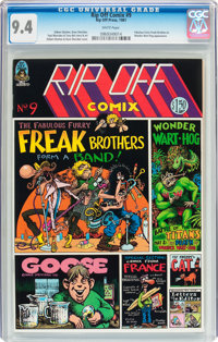 Rip Off Comix #9 (Rip Off Press, 1981) CGC NM 9.4 White pages