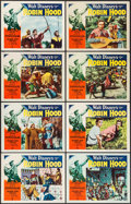 """Movie Posters:Adventure, The Story of Robin Hood (RKO, 1952). Lobby Card Set of 8 (11"""" X 14""""). Adventure.. ... (Total: 8 Items)"""