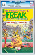 Modern Age (1980-Present):Alternative/Underground, The Fabulous Furry Freak Brothers #9 (Rip Off Press, 1985) CGC NM+ 9.6 White pages....
