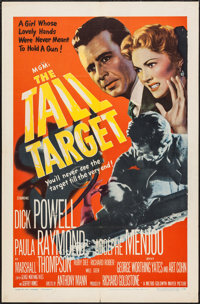 "The Tall Target (MGM, 1951). One Sheet (27"" X 41""). Thriller"