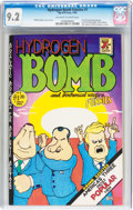 Bronze Age (1970-1979):Alternative/Underground, Hydrogen Bomb Funnies #1 (Rip Off Press, 1970) CGC NM- 9.2 Off-white to white pages....