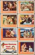 """Movie Posters:War, Task Force (Warner Brothers, 1949). Lobby Card Set of 8 (11"""" X 14""""). War.. ... (Total: 8 Items)"""