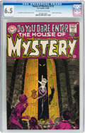 Silver Age (1956-1969):Horror, House of Mystery #174 (DC, 1968) CGC FN+ 6.5 Off-white to whitepages....