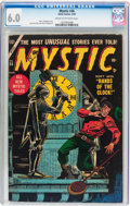 Golden Age (1938-1955):Horror, Mystic #36 (Atlas, 1955) CGC FN 6.0 Cream to off-white pages....