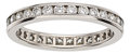 Estate Jewelry:Rings, Diamond, Platinum Eternity Band, Tiffany & Co.. ...