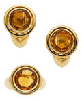 Estate Jewelry:Suites, Citrine, Gold Jewelry Suite, Antonini. ...