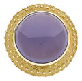 Estate Jewelry:Rings, Chalcedony, Gold Ring. ...
