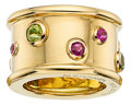 Estate Jewelry:Rings, Ruby, Peridot, Gold Ring, Chanel. ...
