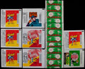 Baseball Collectibles:Others, 1950's-70's Baseball Bowman & Topps Wrappers Collection (11)With Three 1954 Bowman Wrappers....