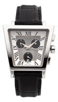 Estate Jewelry:Watches, Corum Gentleman's Limited Edition Stainless Steel Trapeze Watch....