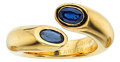 Estate Jewelry:Rings, Sapphire, Gold Ring, Cartier. ...