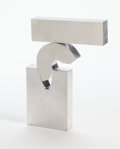 Post-War & Contemporary:Minimalismk, Menashe Kadishman (Israeli, 1932-2015). Open Suspense, 1968.Aluminum. 12-1/8 inches (30.8 cm) high. Ed. 5/10. Marked to...