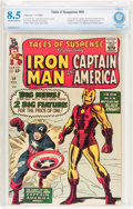 Silver Age (1956-1969):Superhero, Tales of Suspense #59 (Marvel, 1964) CBCS VF+ 8.5 Off-white to white pages....