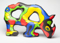 Post-War & Contemporary:Pop, Niki de Saint-Phalle (French/American, 1930-2002). InflatableRhino, 1999. Silkscreen on plastic. 42 inches long (106.7 ...