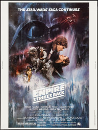 "The Empire Strikes Back (20th Century Fox, 1980). Poster (30"" X 40"") Style A. Science Fiction"