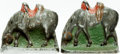 Books:Furniture & Accessories, [Bookends]. Pair of Matching Grazing Horse Bookends. Unsigned,undated. ... (Total: 2 Items)