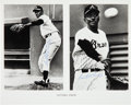 Baseball Collectibles:Photos, Circa 1970 Satchel Paige Twice Signed Photograph. ...