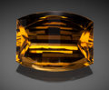 Gems:Faceted, Fine Gemstone: Citrine - 63.45 Ct.. Russia. ...