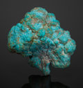 Minerals:Miniature, Turquoise Nugget. Lavender Pit, Bisbee,Warren District, MuleMts.,Cochise County, Arizona, USA. ...
