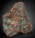 Minerals:Cabinet Specimens, Native Copper with Cuprite. Campbell Shaft, Bisbee, WarrenDistrict, Mule Mts, Cochise Co., Arizona, USA. ...