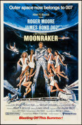 "Movie Posters:James Bond, Moonraker (United Artists, 1979). One Sheets (2) (27"" X 41"") Advance & Regular. James Bond.. ... (Total: 2 Items)"